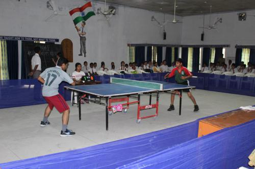 Cluster Level Table Tennis